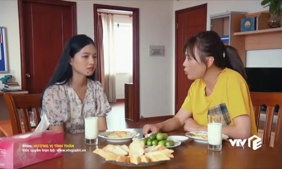 Diệp say mê Dũng trong phim 'Hương vị tình thân'