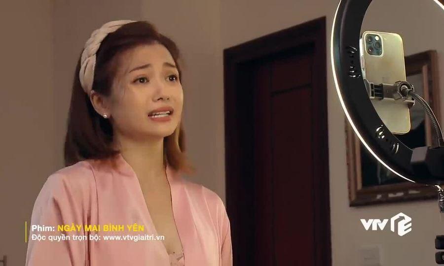 Kiều Anh trong phim 'Ngày mai bình yên'
