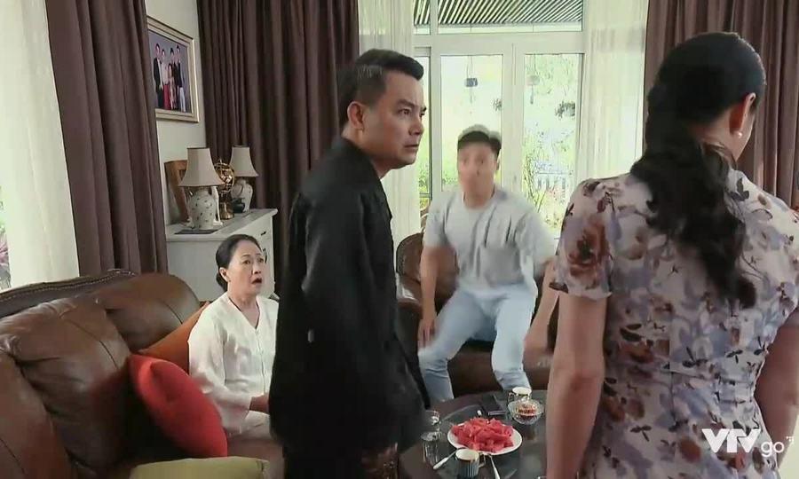 Ông Khang tát bà Xuân trong 'Hương vị tình thân'