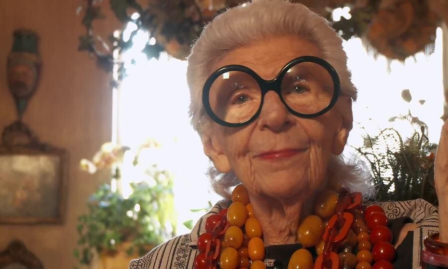 Phim tài liệu về biểu tượng thời trang Iris Apfel