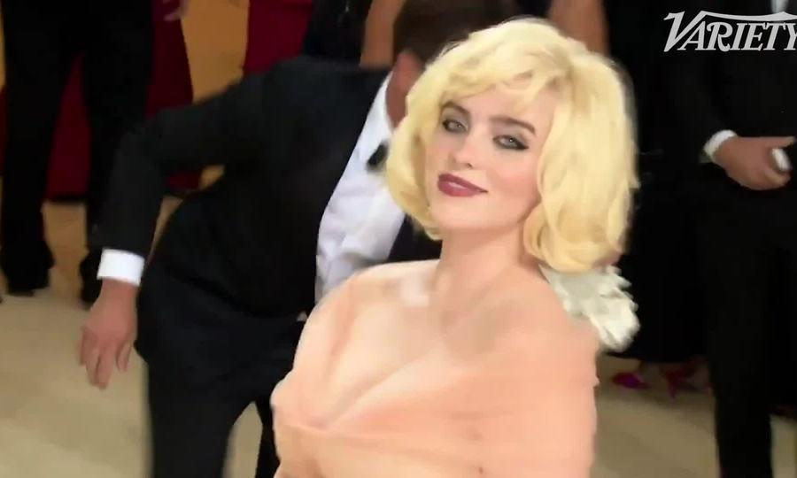 Billie Eilish hóa Marilyn Monroe ở Met Gala 2021
