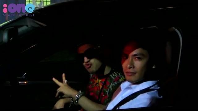 Tae yang nhún nhảy trong ô tô