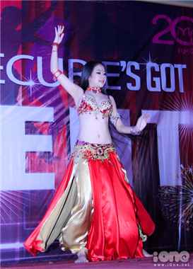 Marie curie's got talent belly dance