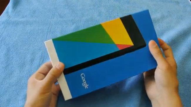 Video thực tế máy tính bảng Nexus 7 thế hệ hai