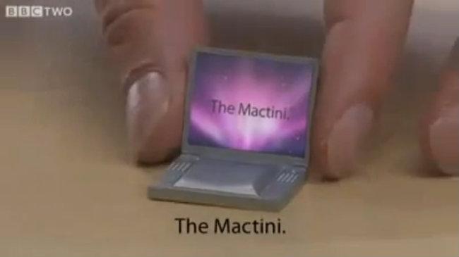 Clip chế quảng cáo máy tính MacBook