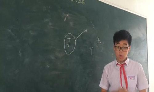 Học sinh lớp 9 ở Đà Nẵng gây sốt với 'thuyết thả thính'