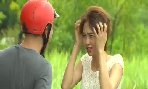 Minh Hằng đóng phim 'Vừa đi vừa khóc'