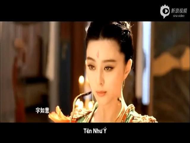 Phạm Băng Băng đóng phim 'Võ Tắc Thiên'