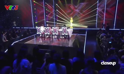 Khương Hoàn Mỹ dự thi X-Factor