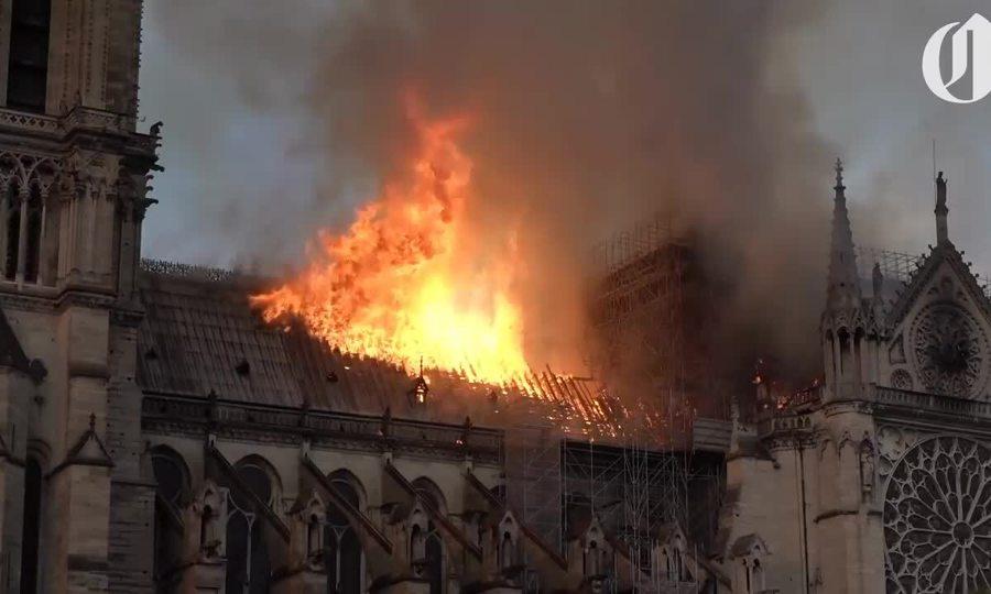 Hỏa hoạn ở Nhà thờ Đức Bà Paris