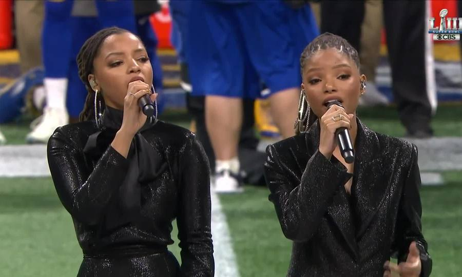 Chloe x Halle Sing America the Beautiful