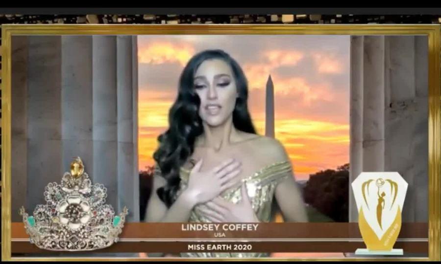 Đại diện Mỹ đăng quang Hoa hậu Trái đất 2020
