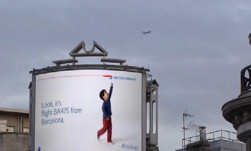 Biển quảng cáo tương tác của British Airways