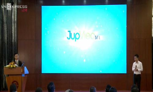 JupViec trả lời chất vấn tại  Startup Việt 2016