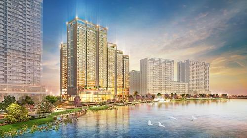 Thiết kế 'bốn vòng xanh' tại dự án quy mô nhất Phú Mỹ Hưng