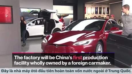 Tesla chuẩn bị xây nhà máy to nhất của hãng tại Trung Quốc