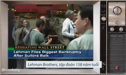 Buổi sáng lịch sử của cuộc khủng hoảng tài chính 10 năm trước