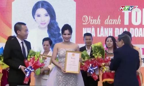 Lễ Vinh Danh Tổng Giám Đốc Mỹ phẩm Top White - Cao Thị Thùy Dung: Top 10 Doanh nhân tiêu biểu năm 20