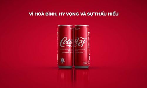 Coca-Cola tung phiên bản giới hạn nhân thượng đỉnh Mỹ - Triều