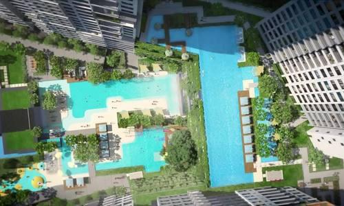 Tổ hợp tiện ích mang đến trải nghiệm nghỉ dưỡng Hawaii tại dự án The Infiniti