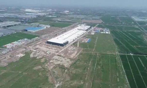Tesla xây nhà máy tại Trung Quốc với tốc độ chóng mặt - ảnh 1