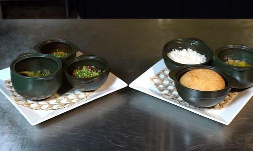 Món ăn ngon và lành với nồi sứ dưỡng sinh Minh Long