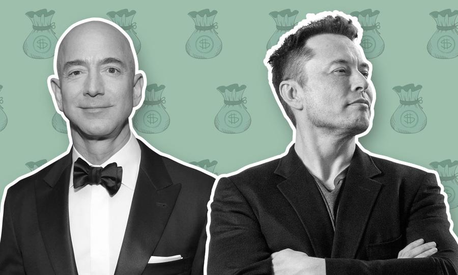 Cuộc so kè của hai tỷ phú giàu nhất hành tinh