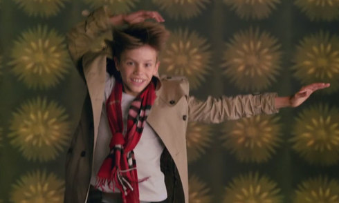 Romeo quảng cáo cho Burberry