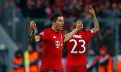 Bayern Munich 2-1 Atletico Madrid