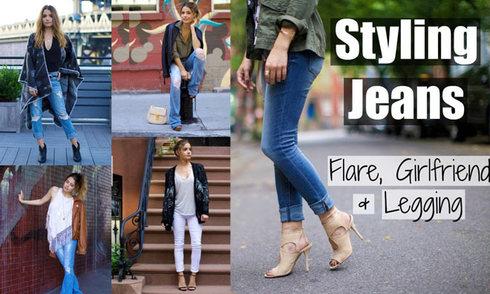 Gợi ý mix đủ kiểu quần jeans sành điệu