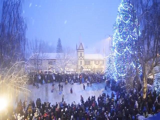 Không khí Giáng sinh tưng bừng ở Leavenworth