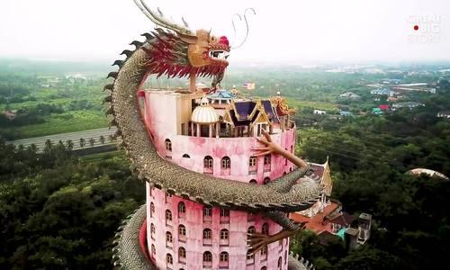 Đền Rồng ấn tượng ở Thái Lan