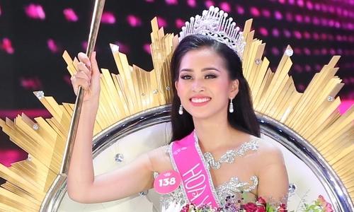 Hoa hậu Trần Tiểu Vy chỉ muốn gặp mẹ sau đăng quang