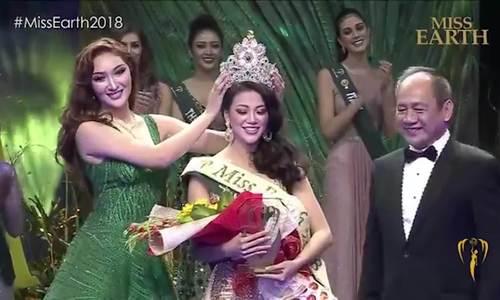 Đường đến vương miện Miss Earth 2018 của Hoa hậu Phương Khánh