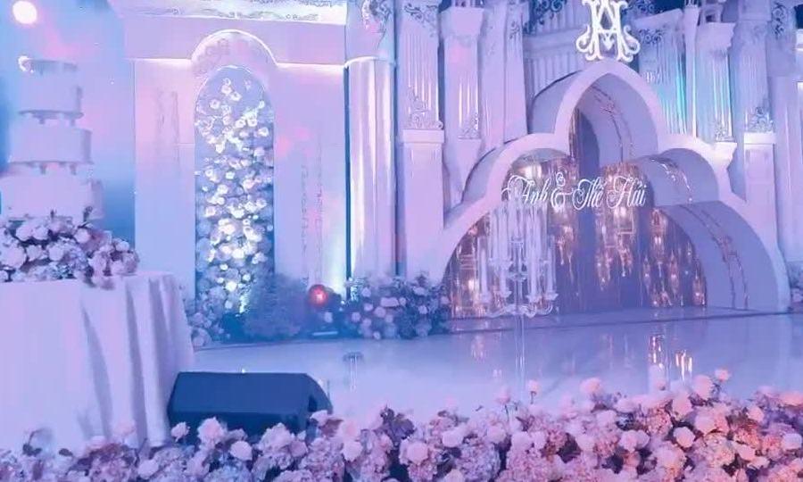 Toàn cảnh không gian siêu đám cưới ở Cao Bằng