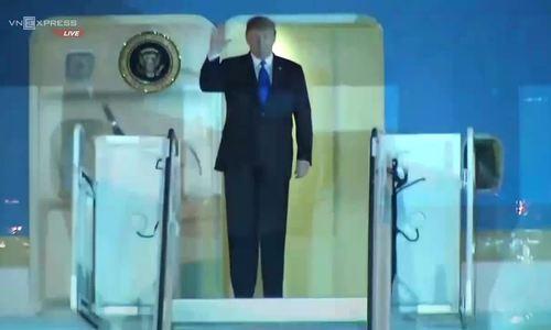 Tổng thống Mỹ Donald Trump tới Việt Nam