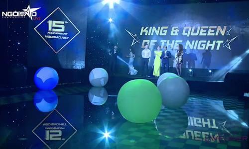 Ngọc Lan, Thanh Bình đoạt giải Nữ hoàng, ông hoàng đêm tiệc Ngoisao - ảnh 1