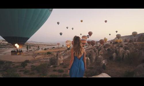 Thị trấn khinh khí cầu ở Thổ Nhĩ Kỳ