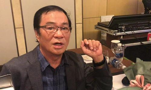 Đạo diễn Khải Hưng bực mình vì Việt Anh sửa mặt