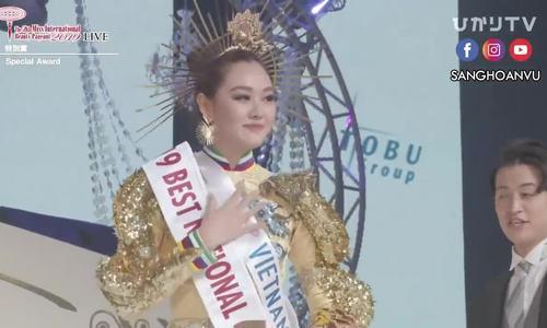 Tường San thắng giải 'Trang phục dân tộc đẹp nhất'