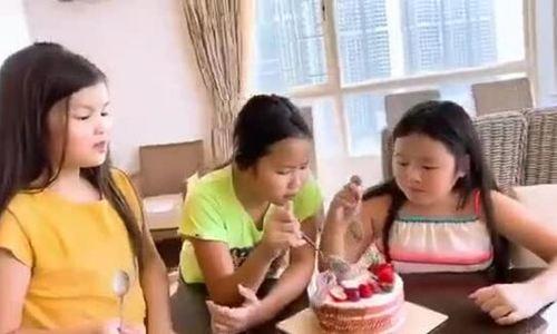 Ba con gái của hoa hậu Phương Lê
