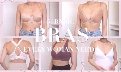 5 kiểu áo ngực phái đẹp cần có