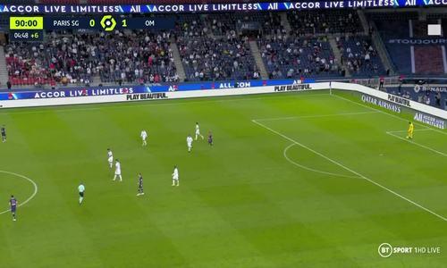 Neymar bị thẻ đỏ trong trận 'loạn đả' với Marseille