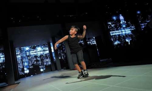 Con trai Đỗ Mạnh Cường học nhảy 8 tuần trước show