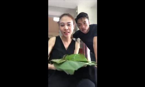 Món bánh yêu thích của Đàm Thu Trang khiến Cường Đôla 'dính ngải'
