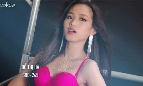 Đỗ Thị Hà tại Hoa hậu Việt Nam 2020