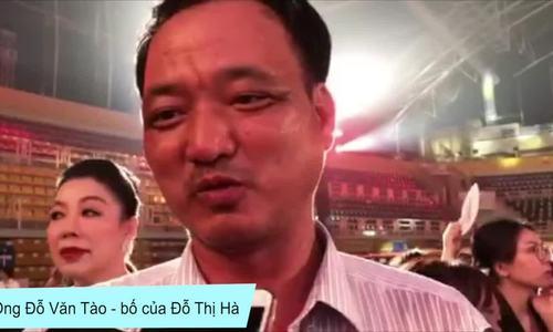 Bố Đỗ Thị Hà: 'Người dân cả nước mong con tôi thành hoa hậu'