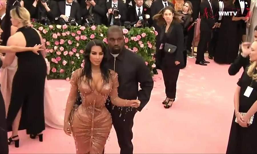 Kim - Kanye tại Met Gala 2019