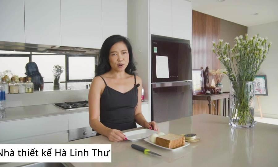 NTK Hà Linh Thư ăn Keto bằng trứng cá Caviar