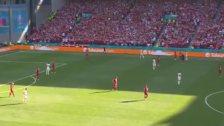 Cầu thủ Đan Mạch - Bỉ tri ân Eriksen